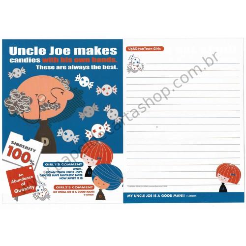 Papel de Carta AVULSO UNCLE JOE - Art-Box Korea
