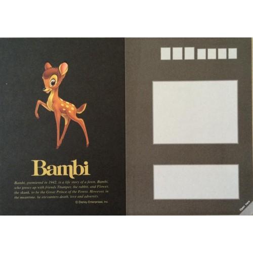 Postcard Antigo Vintage Disney Bambi (BL) - Sun Star
