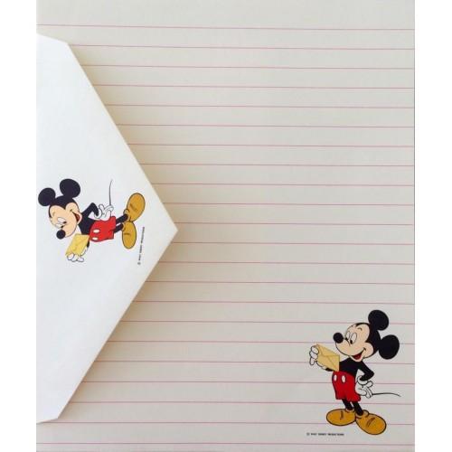 Conjunto de Papel de Carta Disney Mickey Mouse - Hallmark