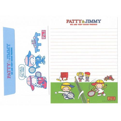 Ano 2012. Conjunto de Papel de Carta Patty & Jimmy Sanrio