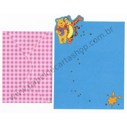Conjunto de Papel de Carta Disney Winnie The Pooh CAZ - Disney
