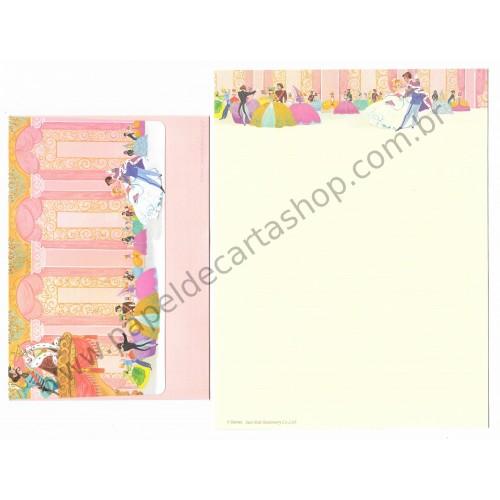 Conjunto de Papel de Carta Disney Cinderella Sun-Star