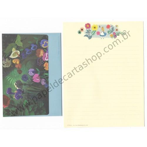 Conjunto de Papel de Carta Disney Alice in Wonderland3 Sun-Star