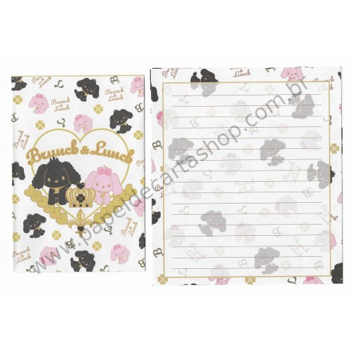 Conjunto de Papel de Carta Importado Brunch & Lunch CBR - Japan