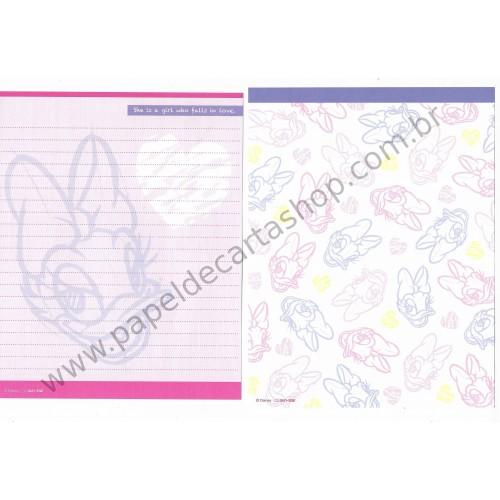 Conjunto de Papel de Carta Disney Daisy Duck (CRS) Sun-Star