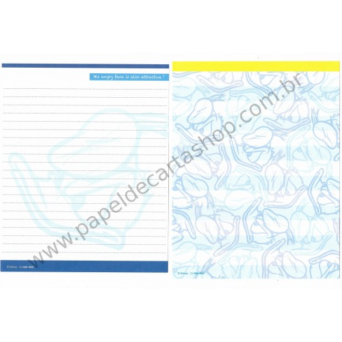 Conjunto de Papel de Carta Disney Donald Duck (CAZ) Sun-Star
