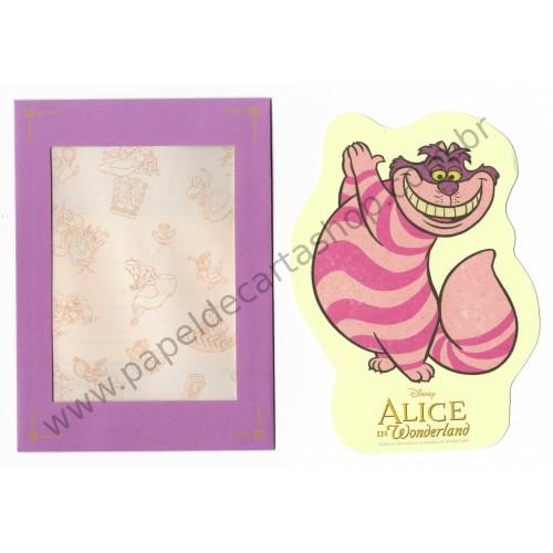 Conjunto de Papel de Carta Disney Alice P Sun-Star (CLL)