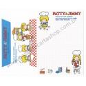Ano 2011. Conjunto de Papel de Carta Patty & Jimmy FV3 Sanrio