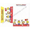 Ano 2011. Conjunto de Papel de Carta Patty & Jimmy FV4 Sanrio