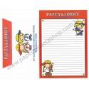 Ano 2011. Conjunto de Papel de Carta Patty & Jimmy FV6 Sanrio