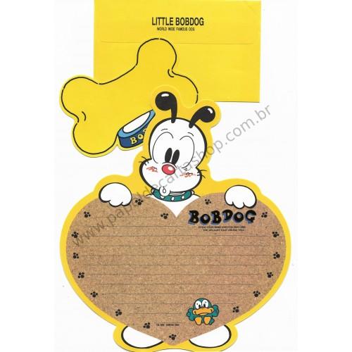 Conjunto de Papel de Carta Antigo (Vintage) Little Bobdog Yellow Wealthyluck Sunward