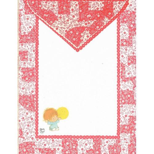 Conjunto de Papel de Carta Antigo Coleção Palacio's Line PC 109