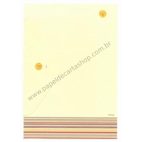 Conjunto de Papel de Carta Disney Pooh (CRS)