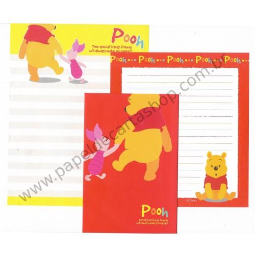 Conjunto de Papel de Carta Disney Winnie the Pooh Friends