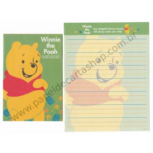 Conjunto de Papel de Carta Disney Winnie The Pooh (CVD)