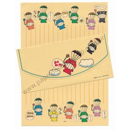 Conjunto de Papel de Carta Antigo (Vintage) Bichinhos - MIDORI Japan