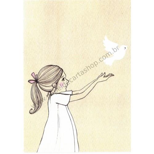 Cartão Postal Release - Belle & Boo