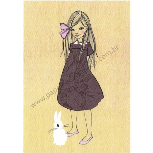 Cartão Postal Patience Brown - Belle & Boo