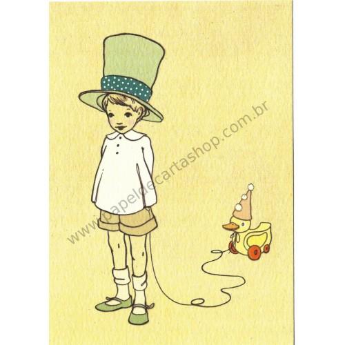 Cartão Postal I Like Your Hat - Belle & Boo