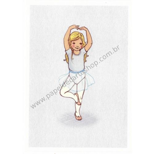 Cartão Postal Pirouette - Belle & Boo