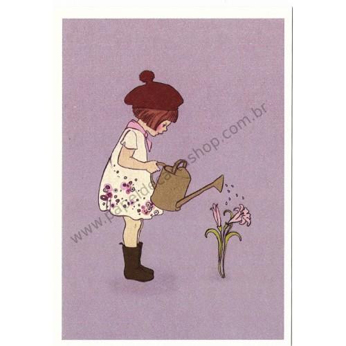 Cartão Postal Grew This - Belle & Boo