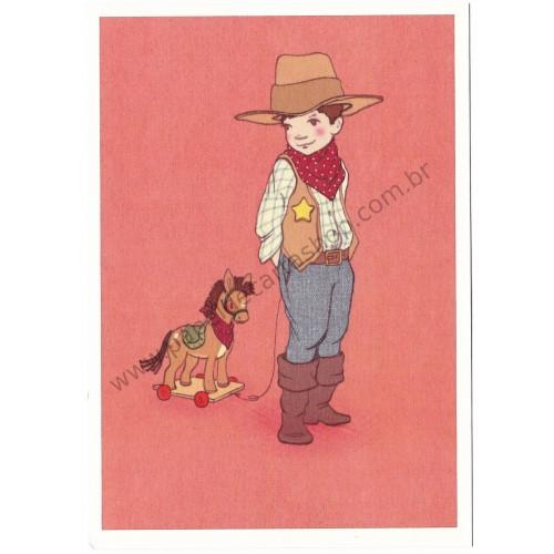 Cartão Postal Yeehaw - Belle & Boo