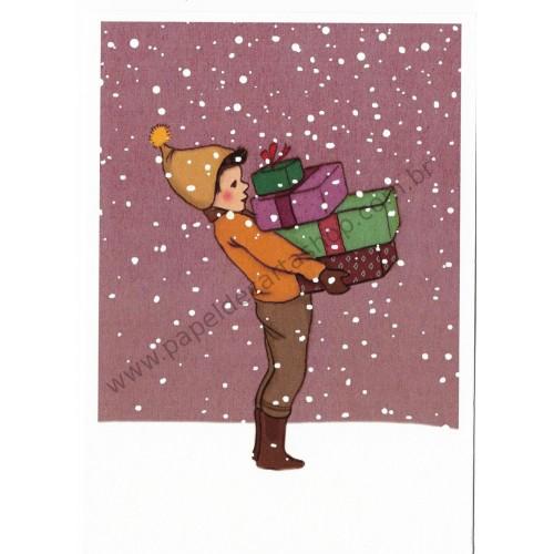 Cartão Postal All for You - Belle & Boo