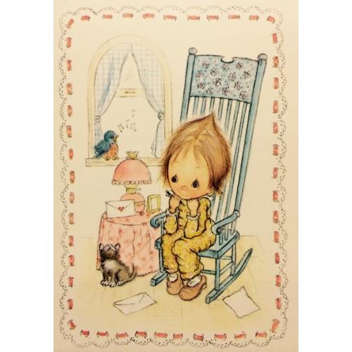Cartão Postal ANTIGO Betsey Clark P6