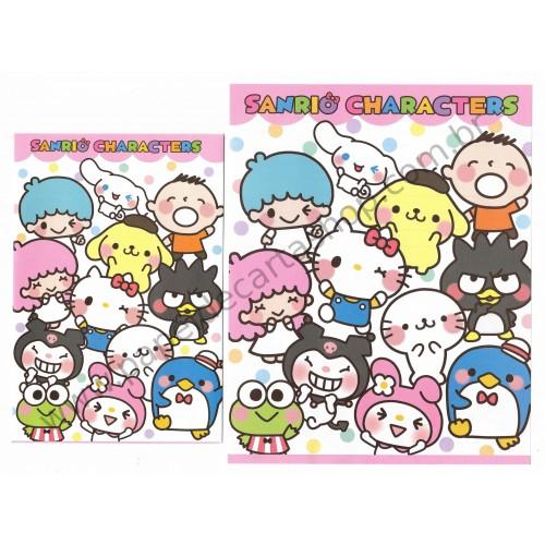 Ano 2014. Conjuntos de Papel de Carta Sanrio Characters 1 Sanrio