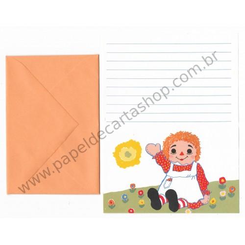 Conjunto de Papel de Carta Importado Annie Baby - Montag