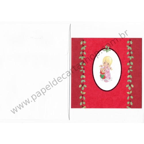 Ano 2007. Cartão Importado Precious Moments Christmas CVM - G1
