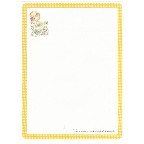 Papel de Carta Coleção Gisele (QOR) - G
