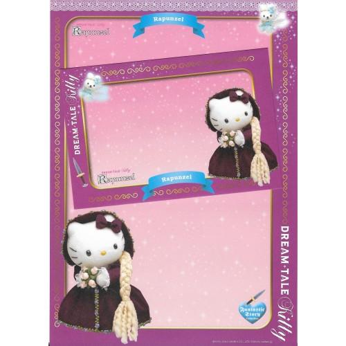 Ano 2004. Coleção DREAM TALE Kitty Blue - Sanrio