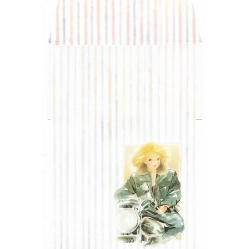 Conjunto de Papel de Carta Antigo Coleção KARINA 02G