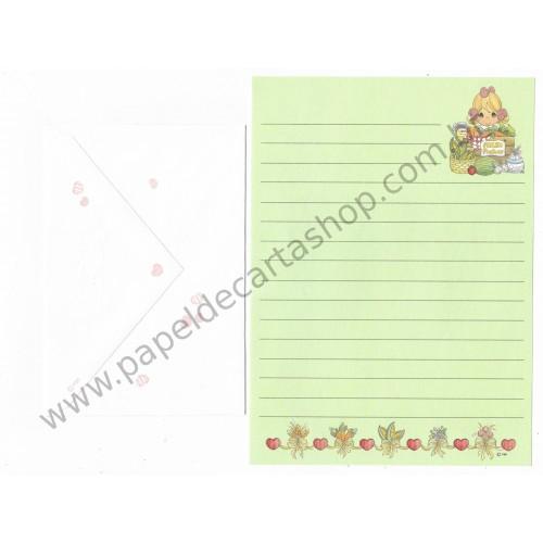 Conjunto de Papel de Carta IMPORTADO Precious Moments CLL