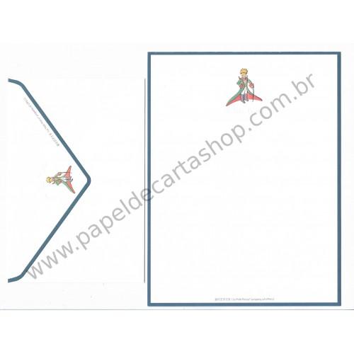 Conjunto de Papel de Carta Importado Le Petit Prince LPP612