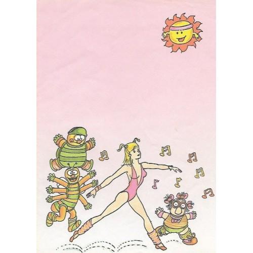 Papel de Carta Turma da Xuxa 06