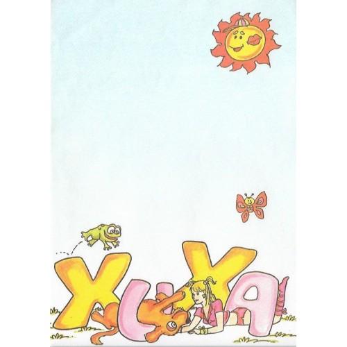 Papel de Carta Turma da Xuxa 07
