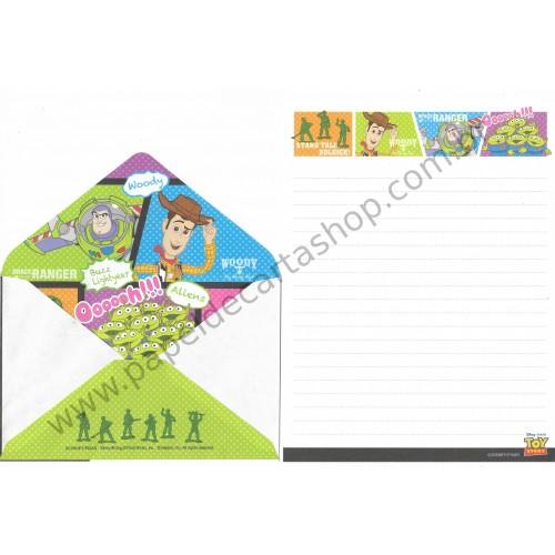 Conjunto de Papel de Carta Disney/Pixar Toy Story Slinky2