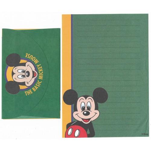 Conjunto de Papel de Carta ANTIGO Personagens Disney Mickey CVD