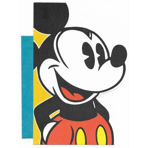 Conjunto de Papel de Carta Antigo Vintage Importado Disney Mickey