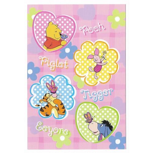 Conjunto de Papel de Carta Importado Disney Pooh Hello There Friend