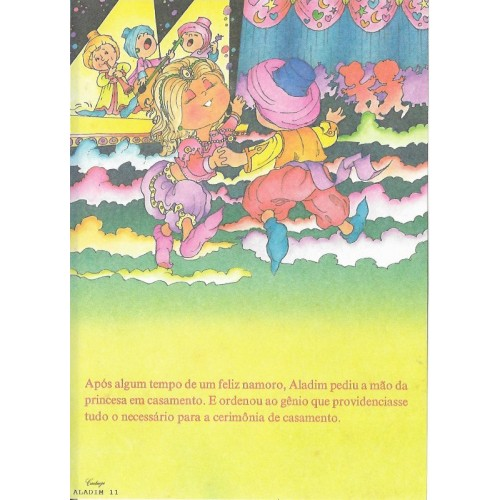 Papel de Carta CARTIUGE Personagens Aladim 11