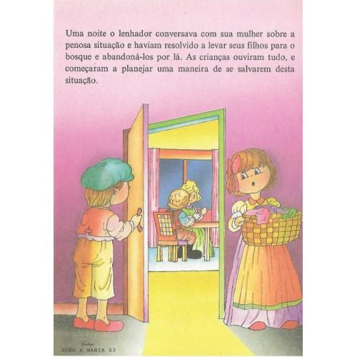 Papel de Carta CARTIUGE Personagens João e Maria 03