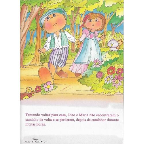 Papel de Carta CARTIUGE Personagens João e Maria 07