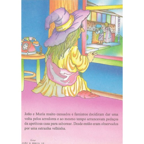 Papel de Carta CARTIUGE Personagens João e Maria 10