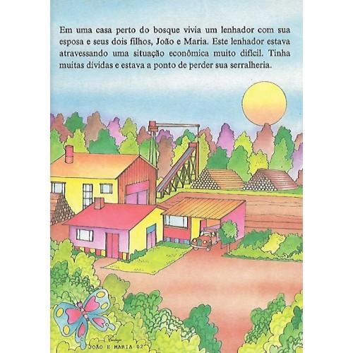 Papel de Carta CARTIUGE Personagens João e Maria 02