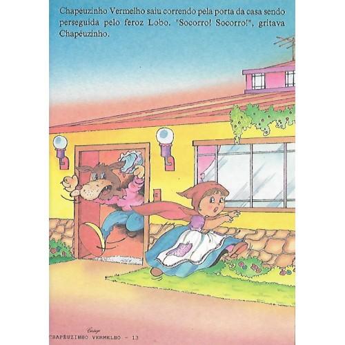 Papel de Carta CARTIUGE Personagens Chapeuzinho Vermelho 13