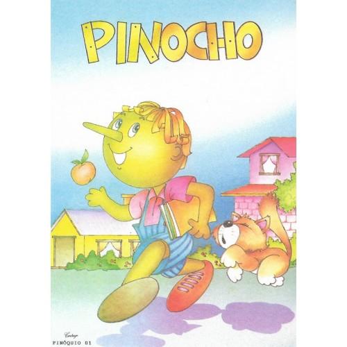 Papel de Carta CARTIUGE Personagens Pinóquio 01