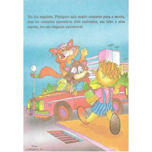 Papel de Carta CARTIUGE Personagens Pinóquio 05